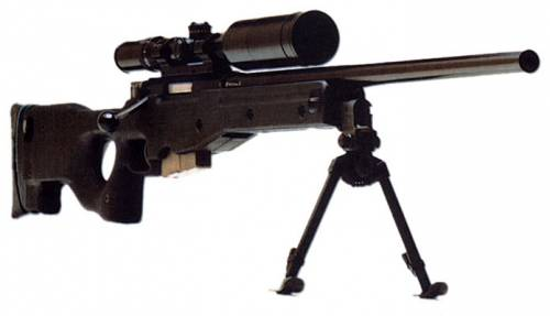 снайперская винтовка SAS