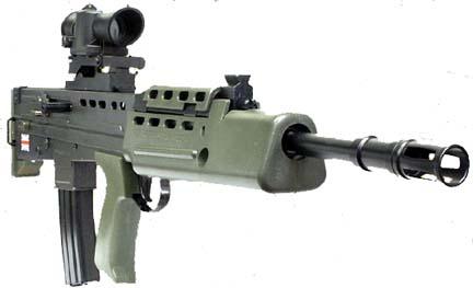 SA-80 калибра 5,56 мм