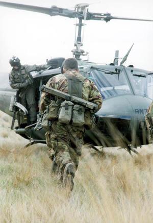 подготовка солдат SAS