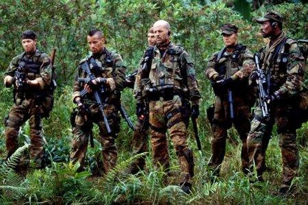 Патрулирование SAS в джунглях