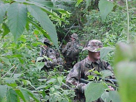 Постоянные патрули SAS