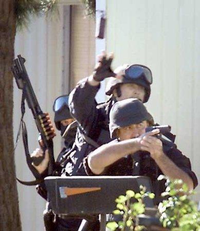 Действия в различных ситуациях. Спецназ SAS.