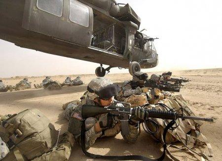 Проникновение SAS по воздуху. Использование вертолетов.