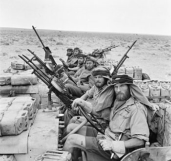 SAS в Северной Африке