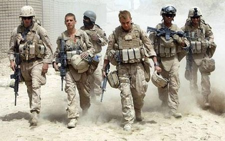 Американские войска