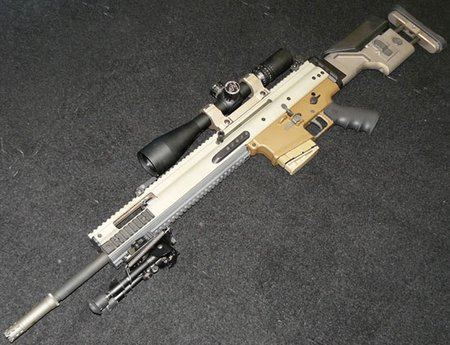 Cнайперская винтовка FN SCAR SSR Mk 20 Mod 0