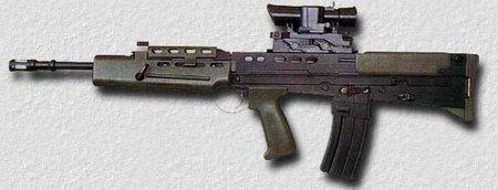 Штурмовая винтовка SA80 - L85A1