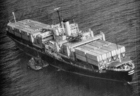 Захват контейнеровоза