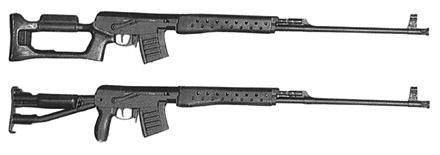 Снайперская винтовка СВК