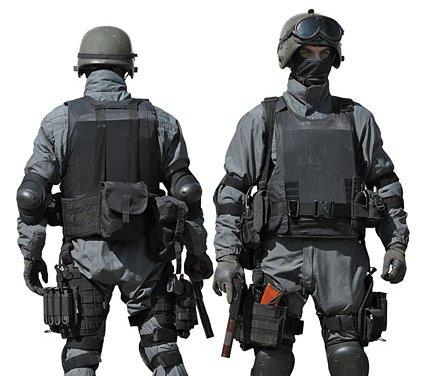 Разгрузочный жилет спецназовца