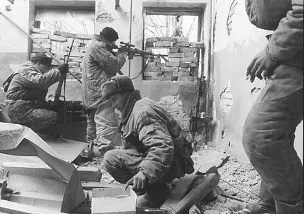 Снайпер в Чечне
