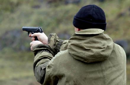 Стрельба из пистолета