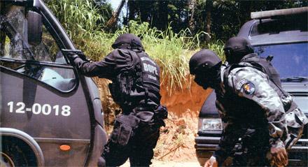 Спецназ Бразилии